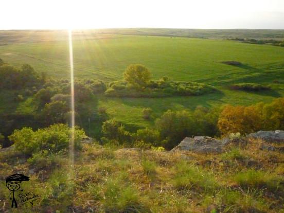 Закат в Зайцевке