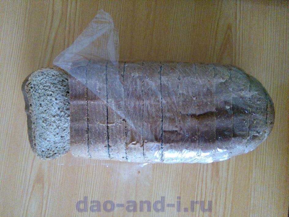 Выбор хлеба для сухарей в поход
