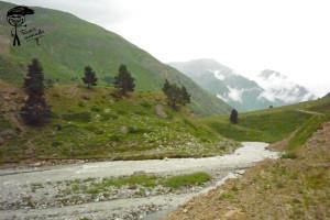 Место, где в Гара-Аузусу впадает приток