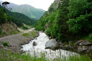 Гара-Аузусу и дорога к Тихтенгену