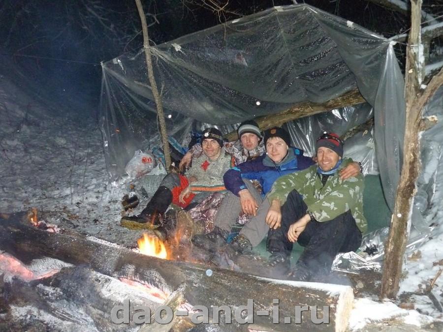 ночевки зимой в палатке пенки мало