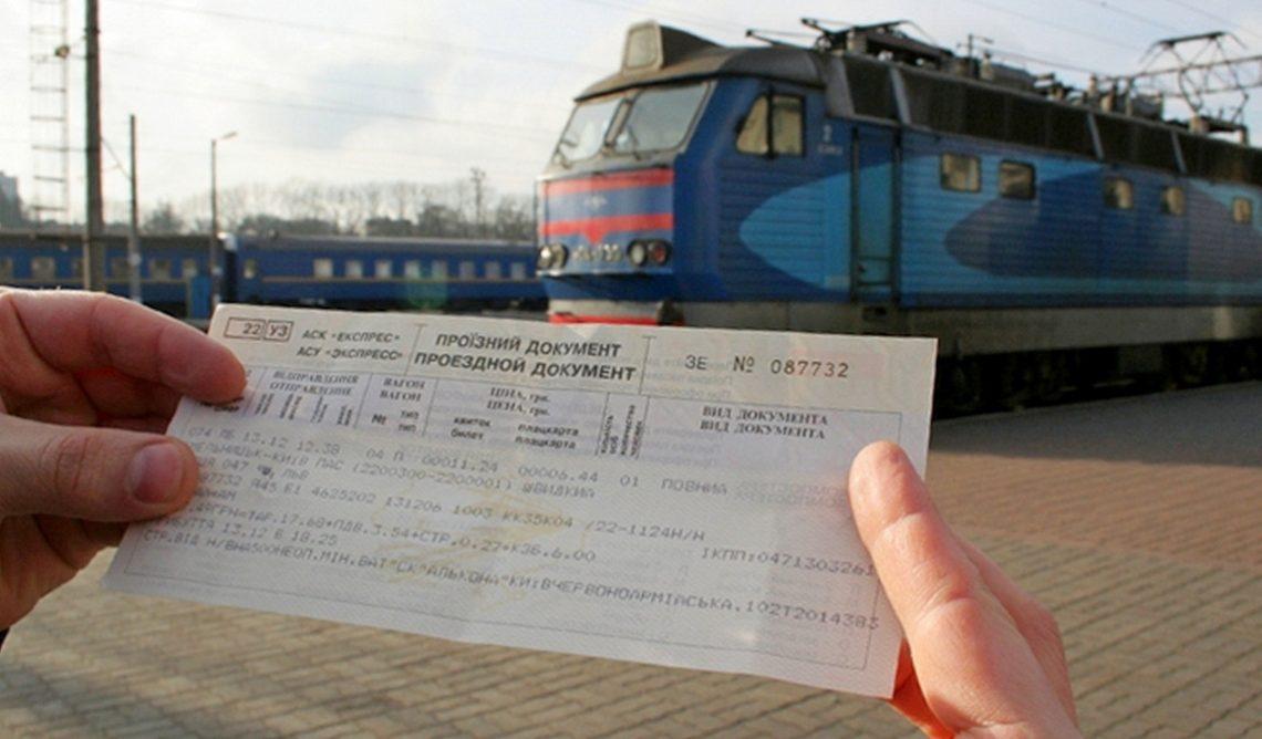 Где заказывать билеты на поезд