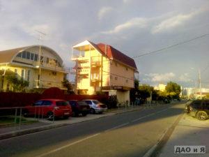 Перекресток улиц Ружейная и Староохотничья
