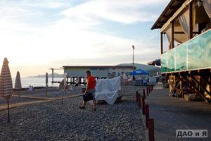 Вид с пляжа Барракуда