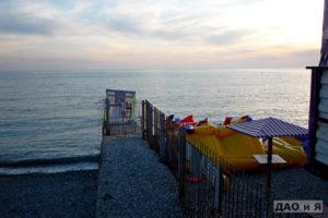 Граница пляжа Знания и Южный 2
