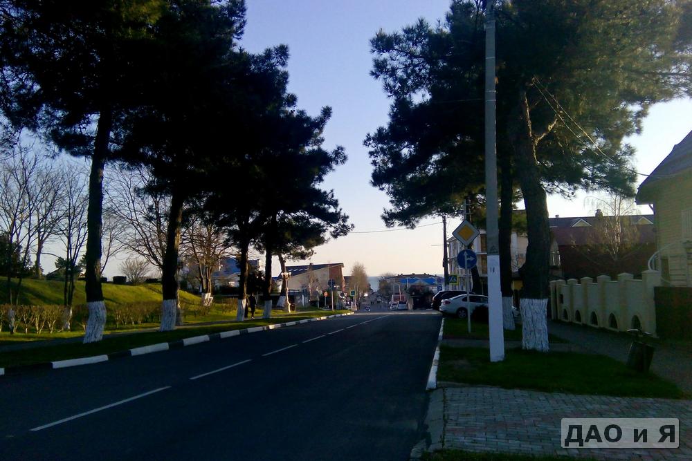 Вид на море с улицы Пограничная
