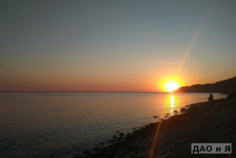Закат в Архипо-Осиповке