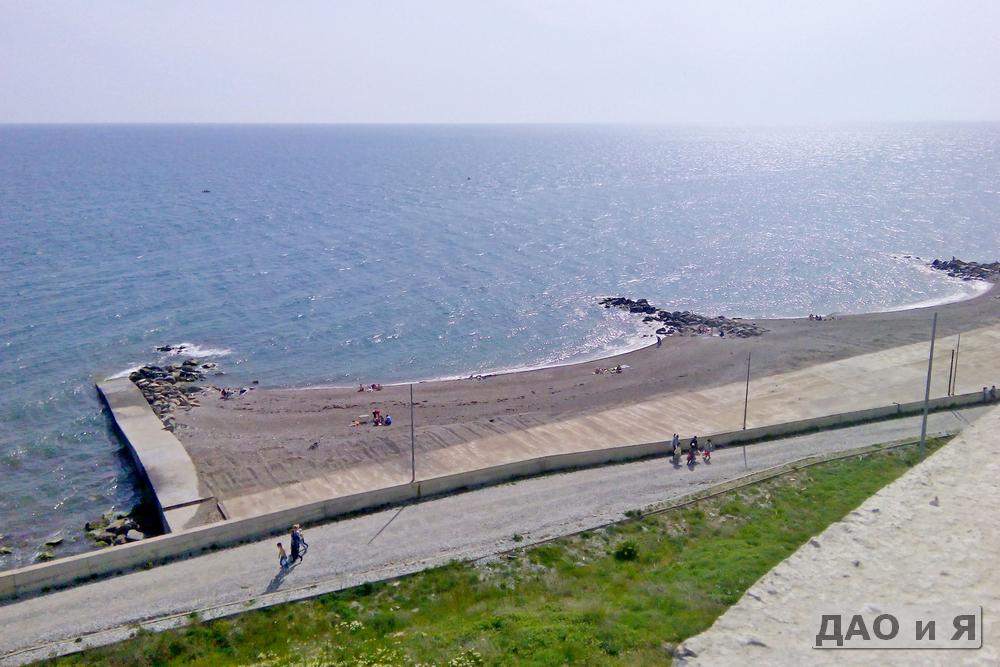 Пляж за рекой Вулан