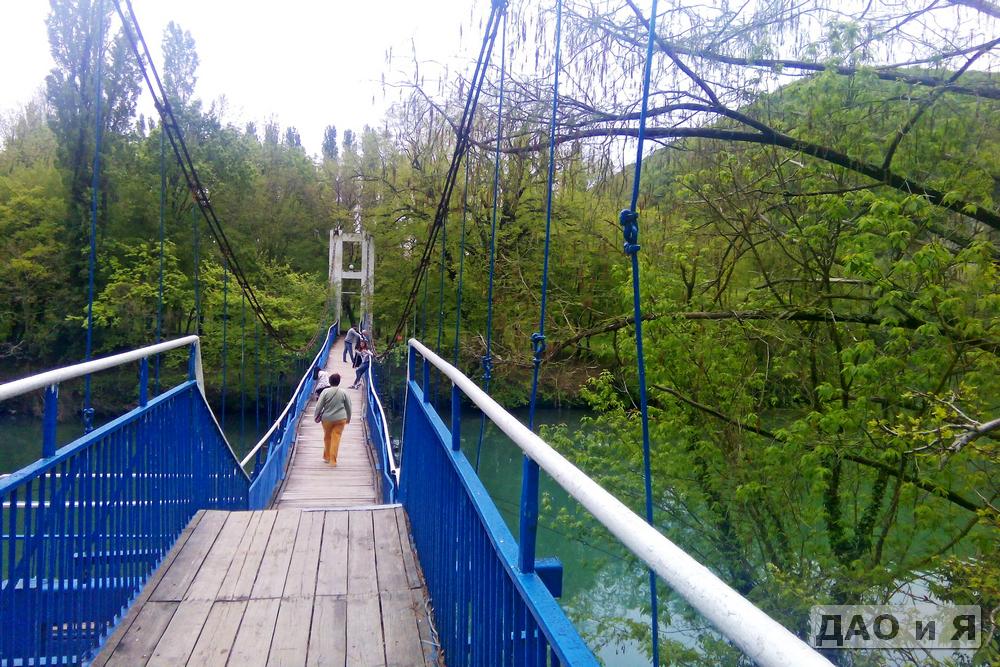 Второй пешеходный мост через Вулан