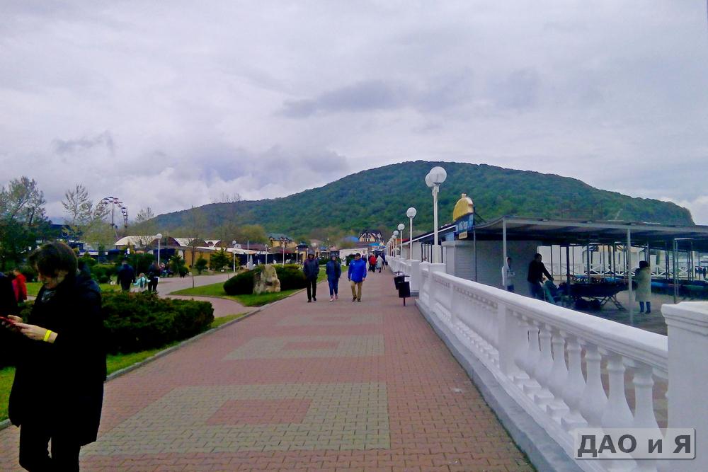 Весенняя набережная в Архипо-Осиповке