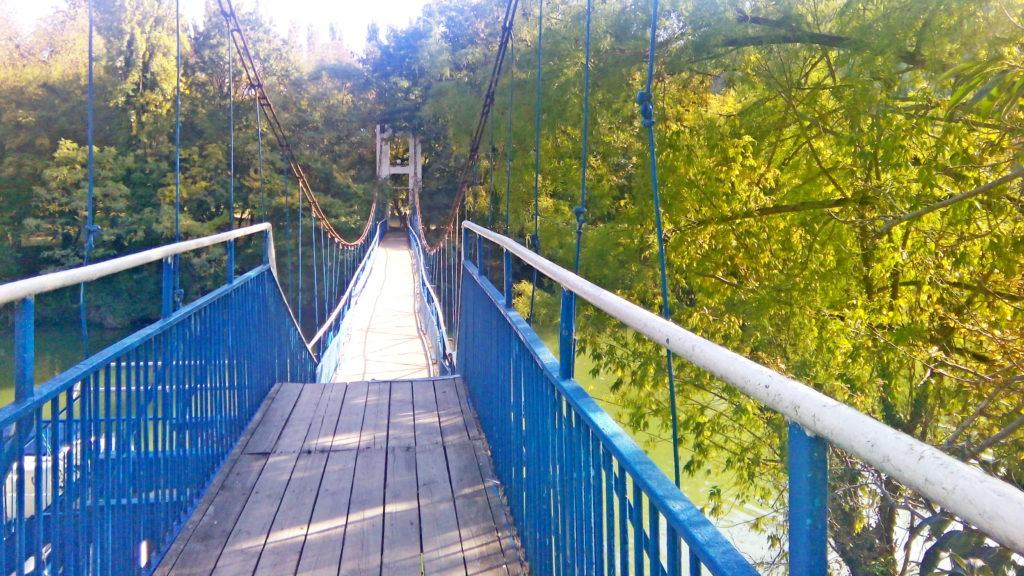 Мост через реку Вулан