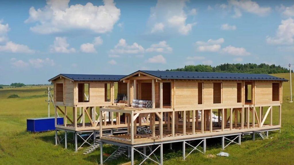 Будущий общественный центр в деревне Малый Турыш