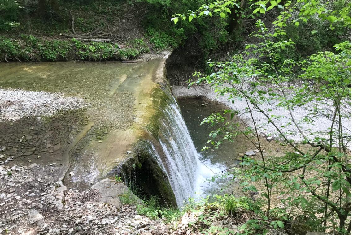 Первый Полковничий водопад